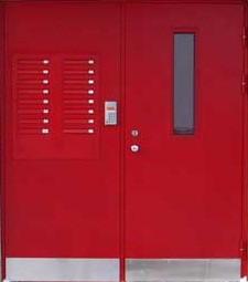 металлические двери подъездные в наро
